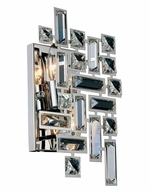 Elegant V2100W12C-RC Picasso Chrome 8  Wall Light Fixture