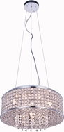 Elegant V2914D16C-RC Amelie Chrome Halogen 16  Drum Pendant Lamp
