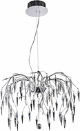 Elegant V5008D24C-EC Amour CHROME Halogen 24  Ceiling Chandelier