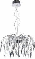 Elegant V5008D28C-EC Amour CHROME Halogen 28  Hanging Chandelier