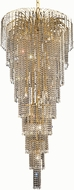 Elegant V6801G30G-RC Falls Gold 30  Chandelier Lighting