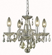 Elegant V7804D15GS-GS-RC Rococo Golden Shadow Mini Ceiling Chandelier