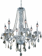 Elegant V7856D24C-GT-RC Verona Chrome 24  Chandelier Light