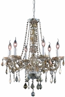 Elegant V7856D24GT-GT-RC Verona Golden Teak 24  Chandelier Light