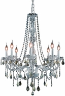 Elegant V7858D28C-GT-RC Verona Chrome 28  Lighting Chandelier