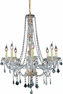 Elegant V7858D28G-RC Verona Gold 28  Chandelier Light