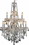 Elegant V7890D28C-RC Giselle Chrome 28  Chandelier Light