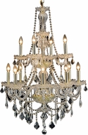 Elegant V7890D28G-RC Giselle Gold 28  Chandelier Lighting