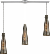 ELK 10247-3L Rury Modern Satin Nickel Multi Drop Ceiling Lighting