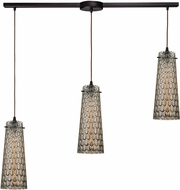 ELK 10248-3L Jerard Contemporary Oil Rubbed Bronze Multi Pendant Lighting