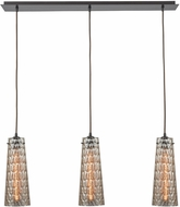 ELK 10248-3LP Jerard Contemporary Oil Rubbed Bronze Multi Pendant Lighting