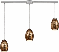 ELK 10255-3L Venture Contemporary Satin Nickel Multi Pendant Light Fixture