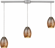 ELK 10256-3L Venture Modern Satin Nickel Multi Hanging Light Fixture