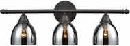 ELK 10272-3 Reflections Modern Oil Rubbed Bronze 3-Light Bath Lighting