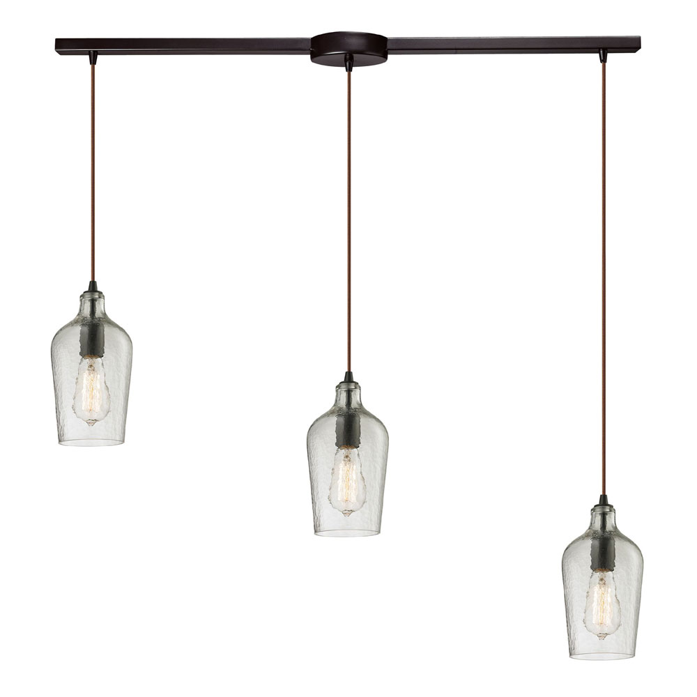 Elk 10331 3l clr hammered glass modern oil rubbed bronze multi elk 10331 3l clr hammered glass modern oil rubbed bronze multi hanging pendant lighting loading zoom mozeypictures Gallery