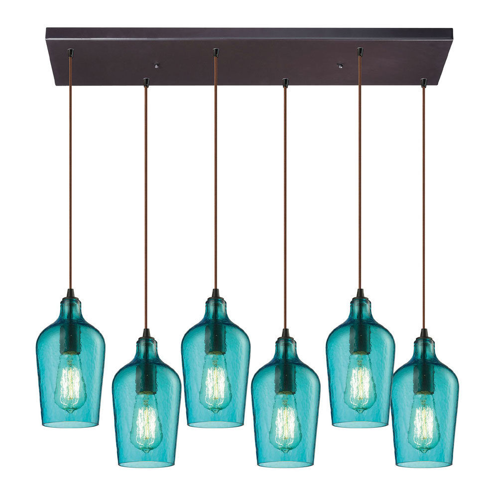 contemporary mini pendant lighting. elk 103316rchaq hammered glass modern oil rubbed bronze multi pendant lighting loading zoom contemporary mini