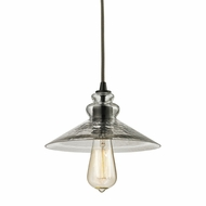 ELK 10332-1 Hammered Glass Modern Oil Rubbed Bronze Mini Lighting Pendant