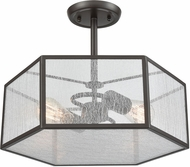 ELK 10351-2 Spencer Modern Oil Rubbed Bronze Ceiling Lighting