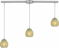 ELK 10421-3L-JD Melony Modern Satin Nickel Halogen Multi Pendant Lamp