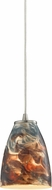 ELK 10460-1CS Abstractions Contemporary Satin Nickel Mini Drop Lighting