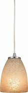 ELK 10476-1 Sandstorm Modern Satin Nickel Mini Pendant Light