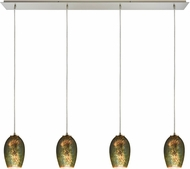 ELK 10506-4LP Illusions Contemporary Satin Nickel Multi Pendant Lighting