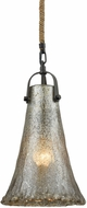 ELK 10651-1 Hand Formed Glass Oil Rubbed Bronze Mini Drop Lighting Fixture