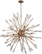 ELK 11114-9 Serendipity Contemporary Matte Gold Ceiling Chandelier