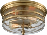 ELK 11325-2 Port O' Connor Modern Satin Brass Home Ceiling Lighting