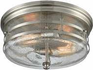 ELK 11335-2 Port O' Connor Contemporary Satin Nickel Overhead Light Fixture