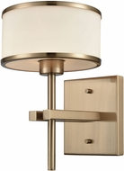ELK 11615-1 Utica Satin Brass Halogen Wall Sconce Lighting
