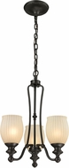 ELK 11655-3 Park Ridge Oil Rubbed Bronze Mini Chandelier Lamp