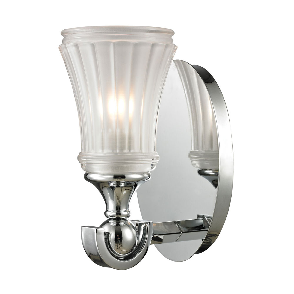 ELK 11680-1 Jayden Polished Chrome Wall Sconce - ELK-11680-1