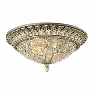 ELK 11693-2 Andalusia Aged Silver Ceiling Lighting Fixture