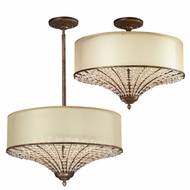 ELK 11701-4 Crystal Spring Spanish Bronze Overhead Lighting / Pendant Light