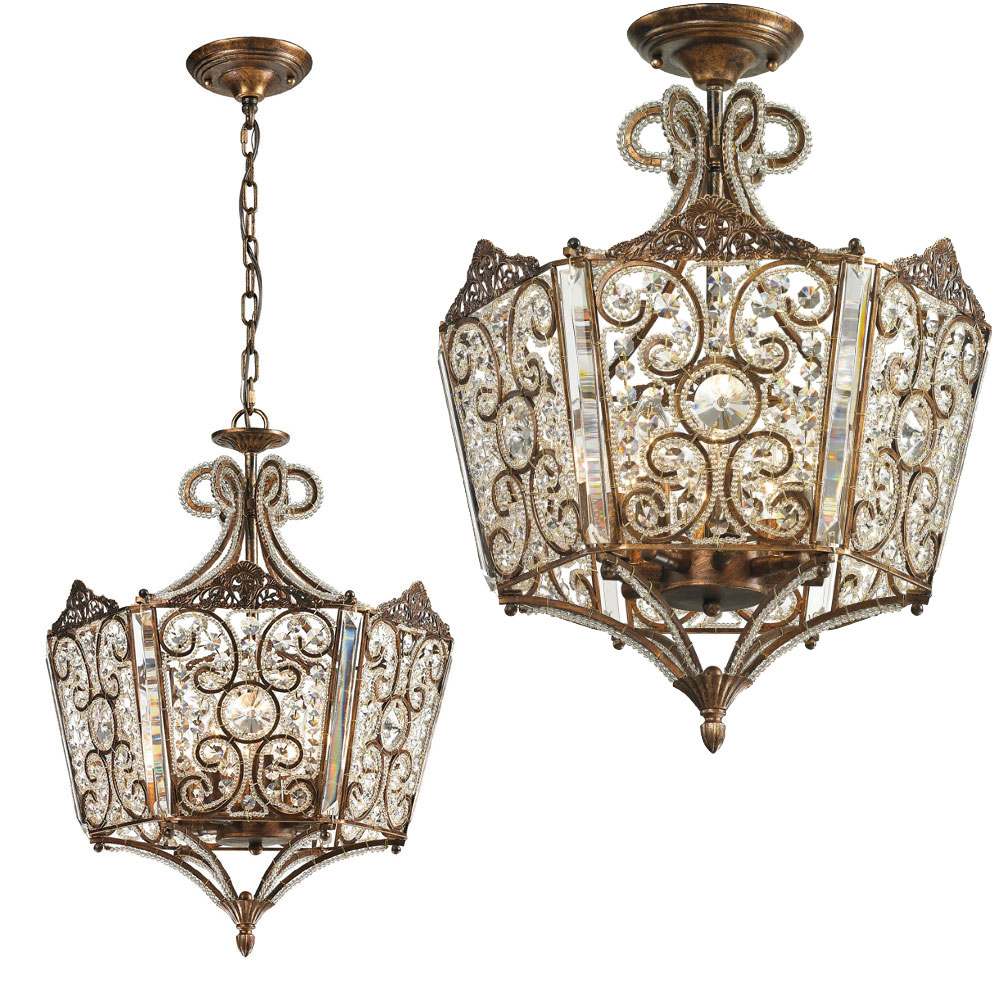Elk 11721 8 villegosa spanish bronze flush mount ceiling light elk 11721 8 villegosa spanish bronze flush mount ceiling light fixture hanging light loading zoom aloadofball