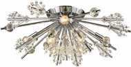 ELK 11748-8 Starburst Polished Chrome Ceiling Light