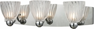 ELK 11792-3 Lindale Contemporary Polished Chrome Halogen 3-Light Bath Light Fixture