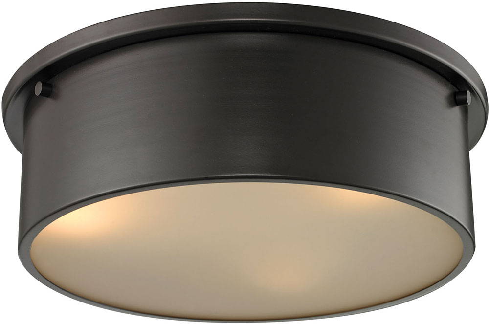 Elk 11811 3 simpson modern oil rubbed bronze flush ceiling light elk 11811 3 simpson modern oil rubbed bronze flush ceiling light fixture loading zoom aloadofball