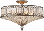 ELK 11886-4 Paola Weathered Zinc Home Ceiling Lighting