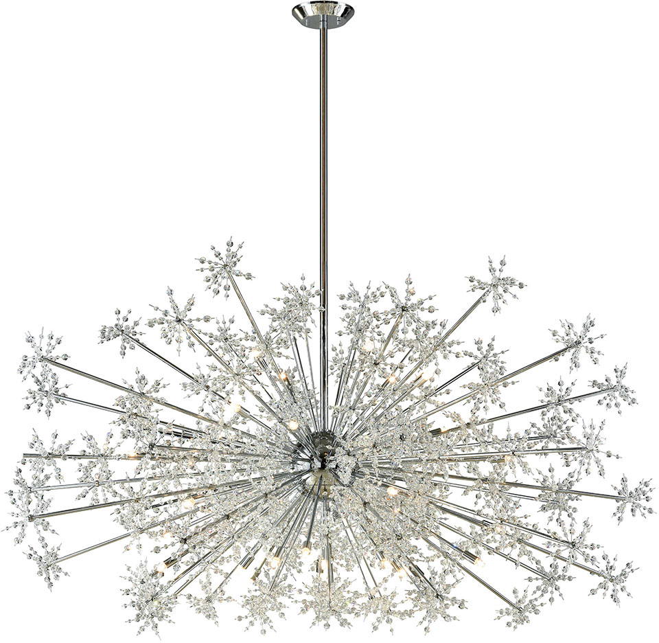 Elk 11897 30 snowburst polished chrome halogen chandelier light elk 11897 30 snowburst polished chrome halogen chandelier light loading zoom arubaitofo Image collections