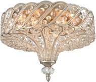ELK 11921-6 Cumbria Aged Silver Ceiling Light