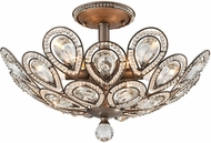 ELK 11931-6 Evolve Weathered Zinc Flush Mount Lighting Fixture