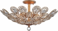 ELK 11933-8 Evolve Matte Gold Overhead Light Fixture