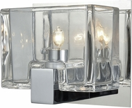ELK 11960-1 Ridgecrest Modern Polished Chrome Halogen Wall Sconce Lighting