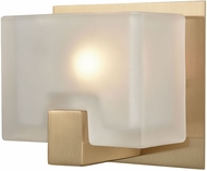 ELK 11970-1 Ridgecrest Modern Satin Brass Halogen Wall Mounted Lamp