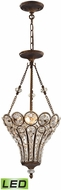 ELK 12032-3-LED Christina Mocha LED Foyer Light Fixture