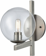ELK 12180-1 Globes of Light Contemporary Brushed Black Nickel Wall Sconce Lighting
