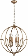 ELK 12843-6 Stanton Contemporary Matte Gold 25  Lighting Chandelier