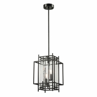 ELK 14202-2 Intersections Modern Oil Rubbed Bronze Foyer Lighting Fixture
